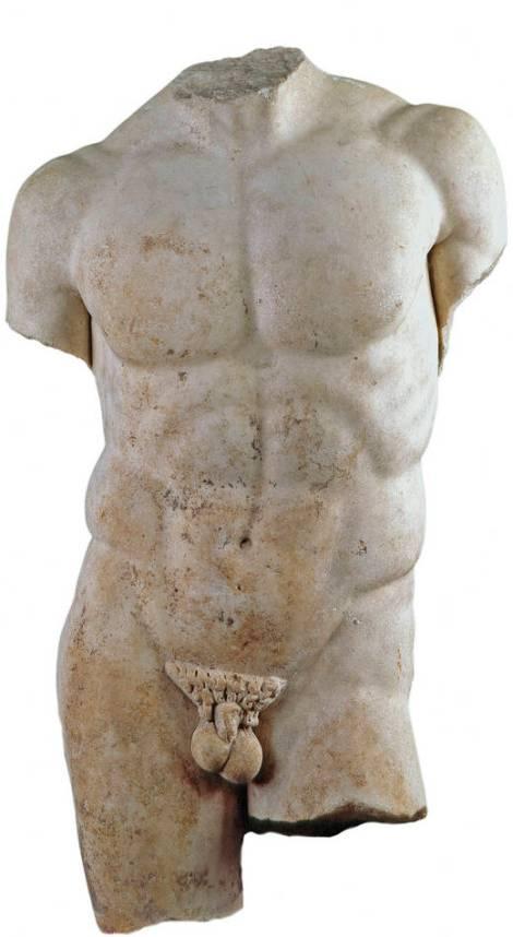 torso del discóforo de Policleto