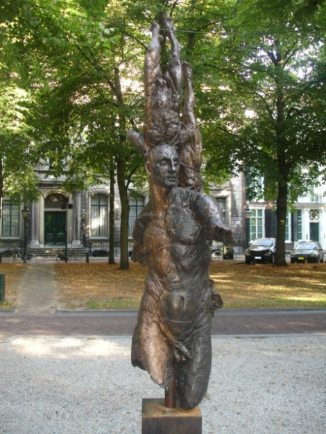 Todo un parque con esculturas magníficas