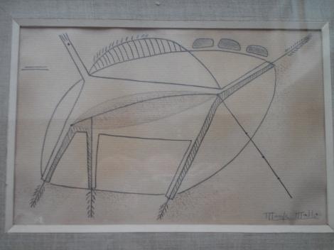 Composición, arquitectura animal. M. Mallo 1935