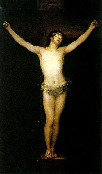 """""""Cristo en la cruz"""" Goya"""
