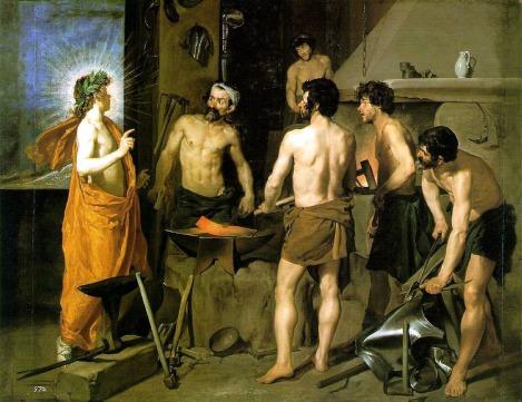 La fragua de Vulcano. Velázquez
