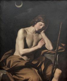 Endimión durmiente. Guercino 1645