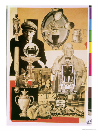Ilustración de Rodchenko para el poema Pro Eto de Maiakovski