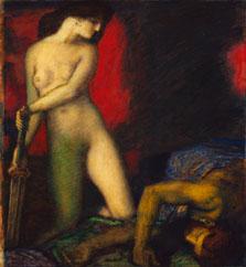 Judit y Holofernes. Franz von Stuck 1927