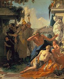 La muerte de Jacinto. Giambattista Tiepolo 1753