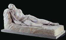 Magdalena yacente. Antonio Canova 1819