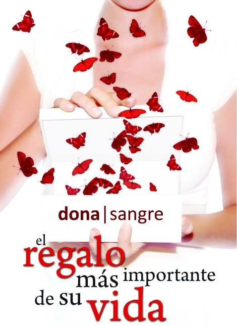 CARTEL DONACION SANGRE