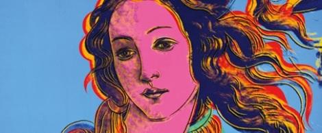 Nacimiento de Venus, Warhol