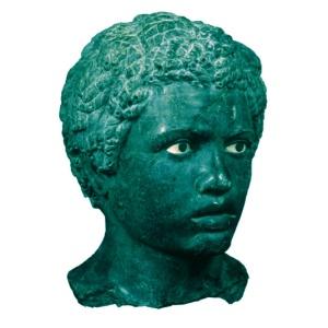 cabesa de joven Nubio
